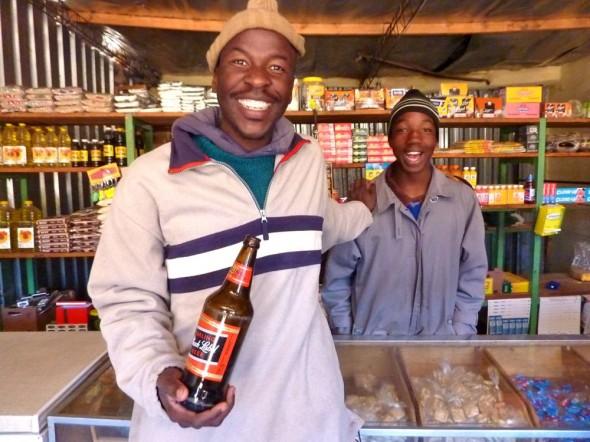 Lesotho Village shops