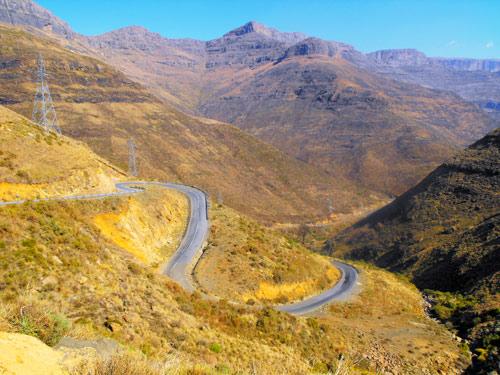 Moteng pass (A1) Lesotho