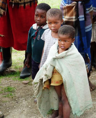 Village Children of Mokhotlong