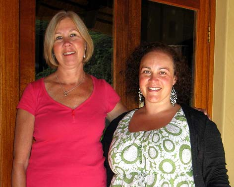 Teachers Kaye Young & Lidia Mancini