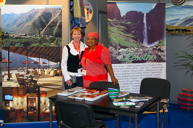 Lesotho ITB Berlin stand