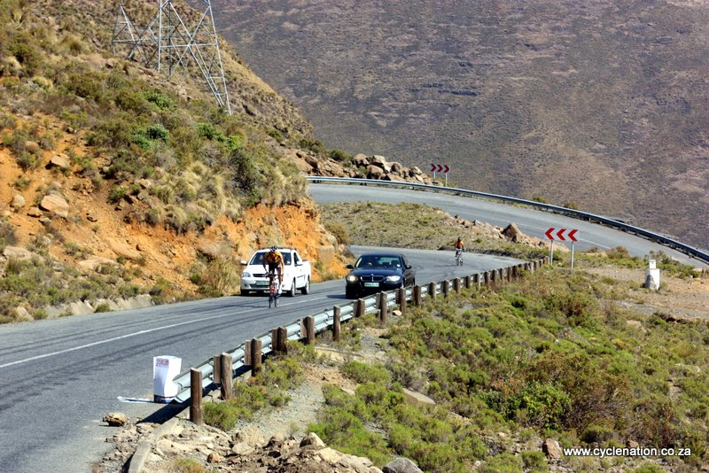Moteng Pass Lesotho, Tasol Race to the Sun 2011