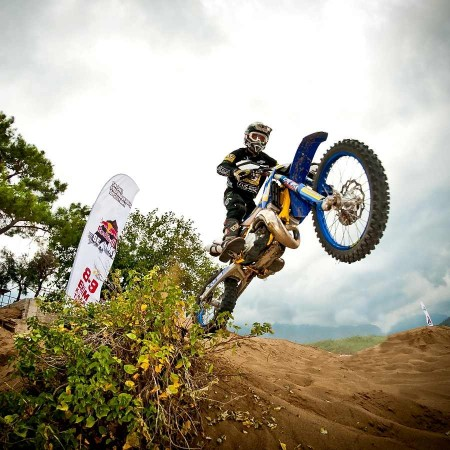Graham Jarvis in action during the 2011 Roof of Africa