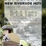 New Maliba Lodge Riverside hut opening special