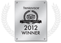 TripAdvisors Travelers' choice awards 2012 Winner