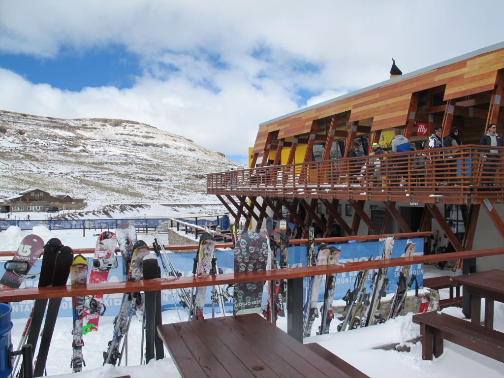 The Gondola Café at AfriSki, Lesotho