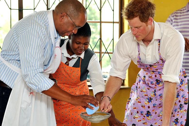 Prince Harry Prince Seeiso in Lesotho-1733103