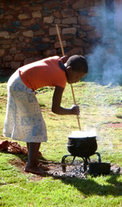Cooking papa the traditional way