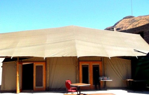 Canvas temporary structure at maliba Lodge by Canvas and Tent Ladysmith