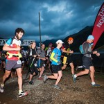 The start of the Lesotho Ultra Trail