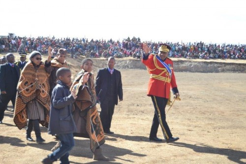 His Majesty King Letsie III's 51st Birthday Brought Masses To The Greatly Anticipated Event
