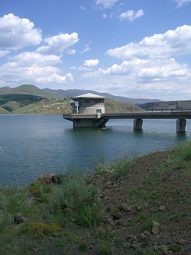 Katse Dam Intake Tower (All Travels; 2014)