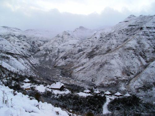 Lesotho Snow2