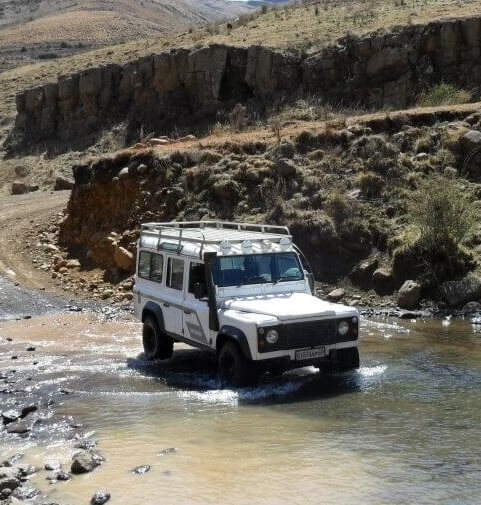 4X4 Driving  Lesotho Africa