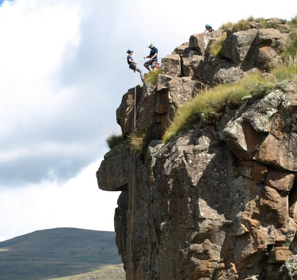 Abseiling Lesotho Africa