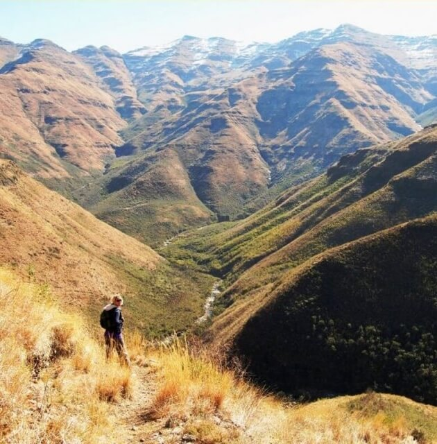 Hiking  Lesotho Africa